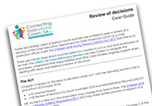CFKC-SA_CarerGuide_ReviewOfDecisions_Nov2018-1 thumbnail
